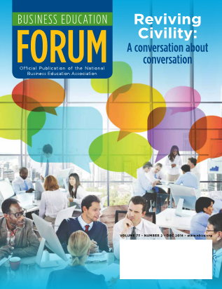 Business Education Forum - Volume 73, Number 2, December 2018