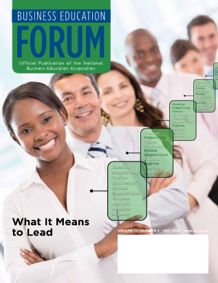 Business Education Forum - Volume 71, Number 2, December 2016