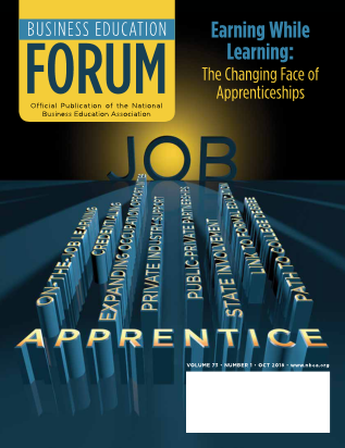 Business Education Forum - Volume 73, Number 1, October 2018
