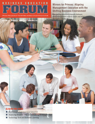 Business Education Forum - Volume 67, Number 4, April 2013
