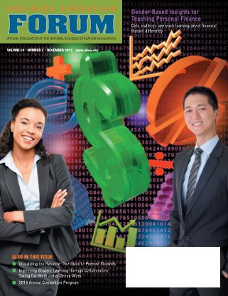 Business Education Forum - Volume 68, Number 2, December 2013