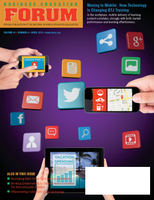 Business Education Forum - Volume 68, Number 4, April 2014