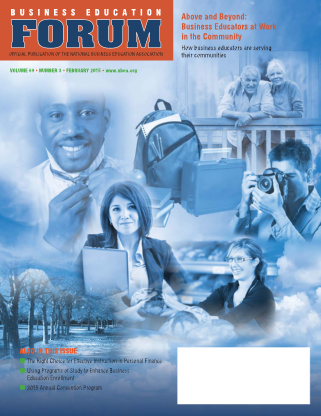 Business Education Forum - Volume 69, Number 3, February 2015
