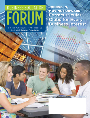 Business Education Forum - Volume 72, Number 1, October 2017