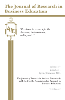The Journal of Research in Business Education - Volume 57, Number 1, Spring/Summer 2015