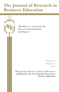 The Journal of Research in Business Education - Volume 58, Number 1, 2017