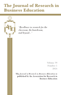 The Journal of Research in Business Education - Volume 59, Number 1, 2018