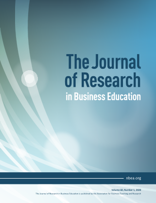 The Journal of Research in Business Education - Volume 60, Number 1, 2020