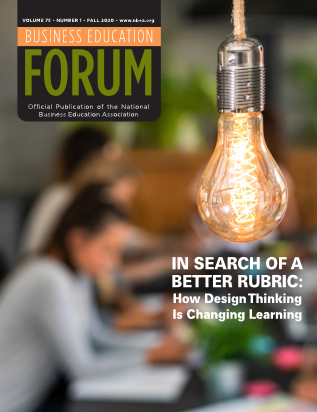 Business Education Forum - Volume 75, Number 1, Fall 2020